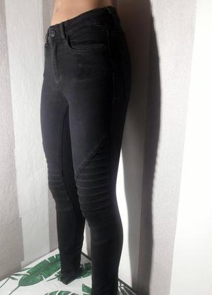 Эластичные брюки, штаны, джинсы, джеггинсы классика . фактурые...