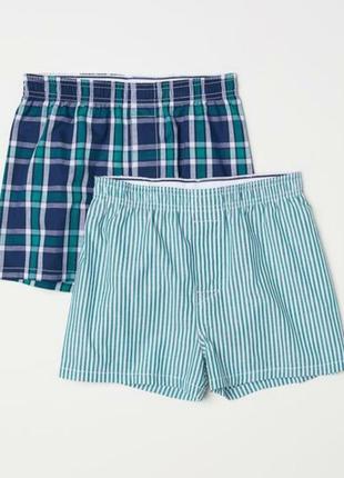 Трусы-шорты для мальчика h&m комплект трусов