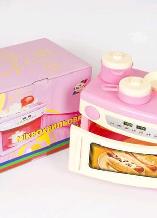Микроволновая печь игрушка бытовая техника