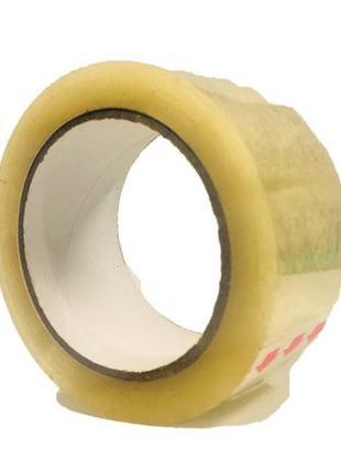 Скотч упаковочный прозрачный 48 мм × 150 м