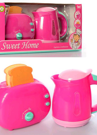 Игровой набор чайник и тостер