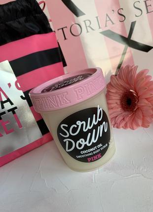 Скраб для тела victoria's secret pink оригинал скраб с кокосов...
