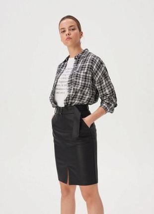 Актуальная юбка карандаш с карманами