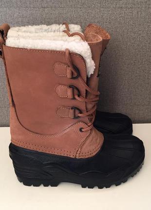 Зимові черевики shamp зимние ботинки сапоги термоботинки
