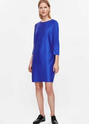Cos платье синее