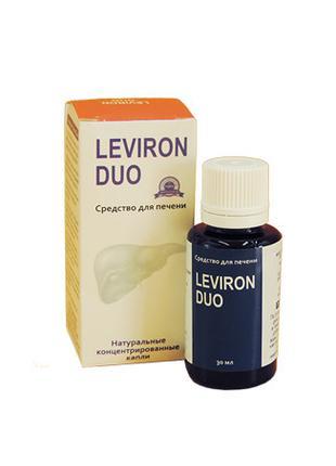 Leviron Duo - Средство для восстановления и очищения печени (Л...