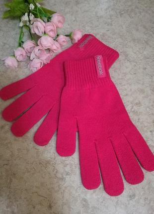 Вязаные перчатки reebok оригинал
