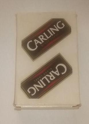 Бельгийские игральные карты Carling