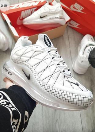 Nike air max 720-818 white, мужские белые кроссовки найк аир макс