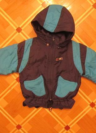 Куртка зимняя на мальчика на 3-4 года