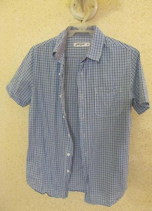 Рубашка gloria jeans, размер xs, ворот 37