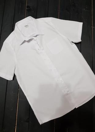 Рубашка для школы на мальчика 13 лет