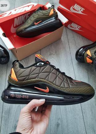 Nike air max 720-818 khaki, мужские кроссовки найк аир макс ха...