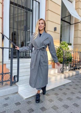Женское пальто кашемир на подкладке