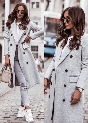 Женское пальто кашемир
