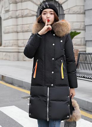 Офигенное пальто с мехом