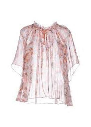 Блуза топ pinko шелк