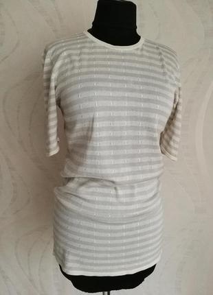 Футболка блуза шелковая,из трикотажного шелка