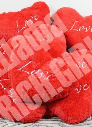 Подушка сувенир сердце подарок ко дню святого валентина к 14 ф...