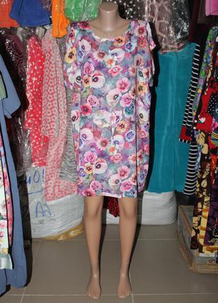 Платье-туника пляжная накидка