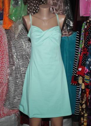 Турция летнее платье туника сарафан (бретели регулируются)