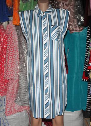 Турция платье рубашка на пуговицах