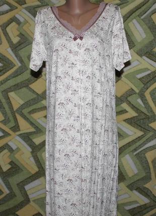 Турция женская ночнушка ночная рубашка домашнее платье