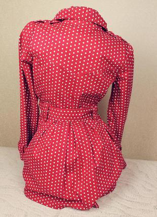 Непревзойдённый винтажный тренч плащ приталенный бренда vintag...