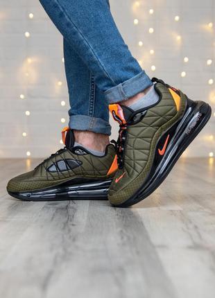 Мужские кроссовки nike air max 720-818 olive