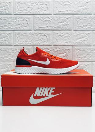 Кроссовки nike гипер легкие кроссовки найк текстиль красные