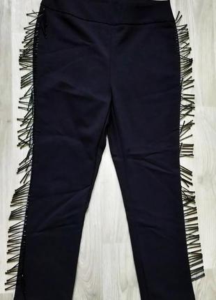 Продам женские класические чёрные брюки штаны zara