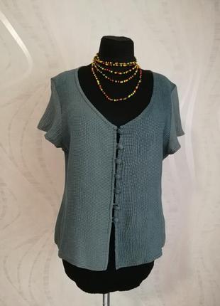 Шелковая блуза блузка,фактурный шелк