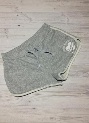 Серые короткие шорты
