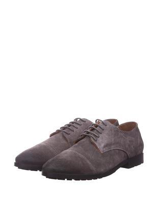 Замшевые туфли benetton