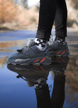 🌸женские кроссовки adidas yeezy boost 700 inertia🌸адидас изи б...