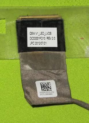 Шлейф матрицы Acer E1-531 E1-571 V1-531 V3-571g Q5WV1 DC02001FO10
