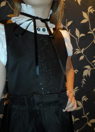 Сарафан и блузка,школа,на 7-8лет