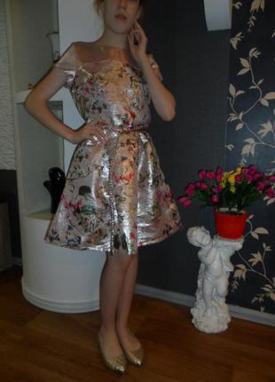 Шикарное платье next на 11-13л,в идеале.
