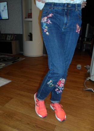 Суперскикие джинсы monsoon 12-13л, на рост 152-158