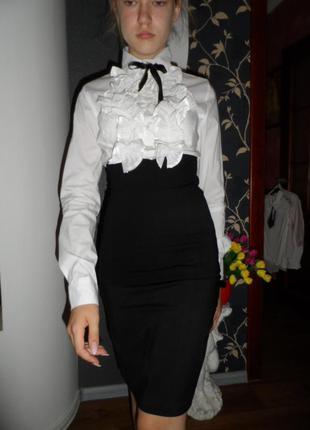 Красивая блузка-корсет ,можно в школу ,италия,р.хс-с,