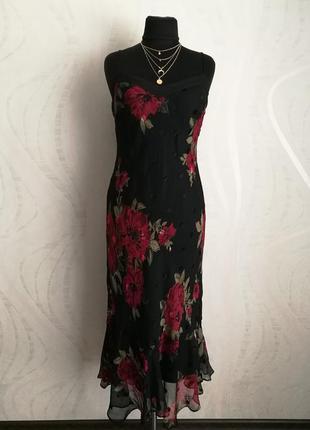 Бесподобное платье сарафан в бельевом стиле+гипюровый жакет-ки...