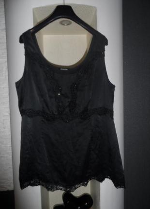 Elena miro ,блузка дорого бренда,нат.шелк ,р 54 -56
