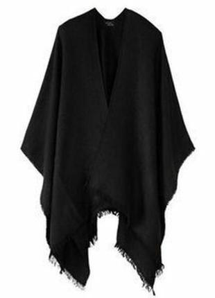 Отличный подарок! шикарное мягкое пончо накидка шарф esmara by...