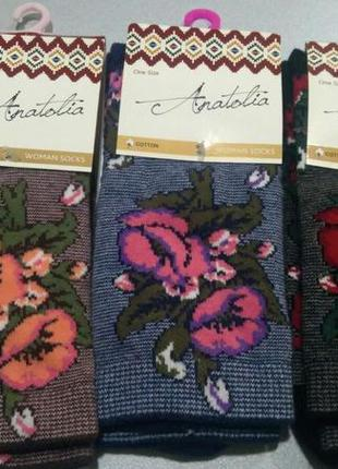 Шикарні плотні носки р 35-41