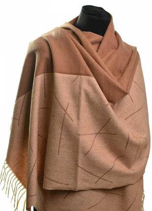 Мягкий, теплый шарф. кашемировый женский платок жіночий