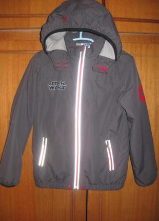 Демисезонная куртка-ветровка star wars (стар варс) р.140