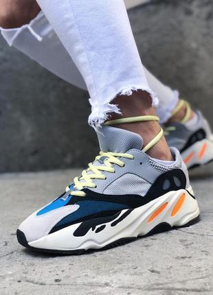 💞женские adidas yeezy boost 700 runner grey💞кроссовки адидас и...