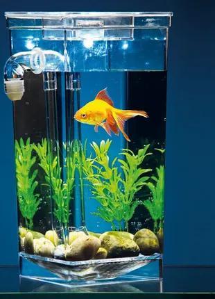 """Аквариум самоочищающийся 2 л """"My Fun Fish"""""""