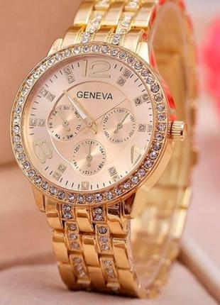 Часы женские кварцевые Geneva Gold