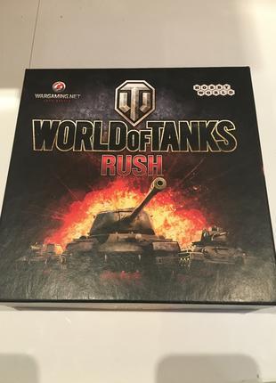 World of Tanks RUSH Настольная игра Новая!